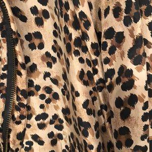 Fuda International Jackets & Coats - Fuda International Cheetah Jacket